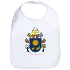 Pope Francis coat of Arms Bib