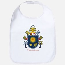 Pope Francis coat of Arms Bib