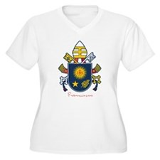 Pope Francis coat of Arms Plus Size T-Shirt