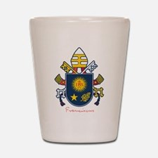 Pope Francis coat of Arms Shot Glass