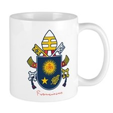 Pope Francis coat of Arms Mug