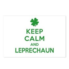 Keep Calm and Leprechaun Postcards (Package of 8)