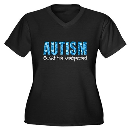 Autism Expect the Unexpected puzzle Women's Plus S