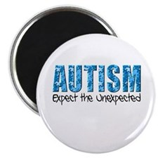 Autism Expect the Unexpected puzzle Magnet