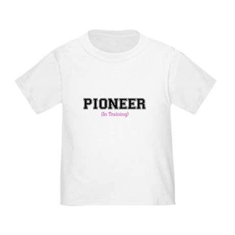Pioneer In Training Toddler T-Shi