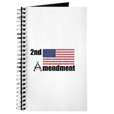 2nd Amendment AR Rifles A and Flag Journal