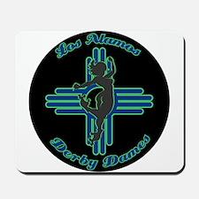 Los Alamos Derby Dames League logo Mousepad