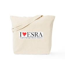 I (heart) ESRA Tote Bag
