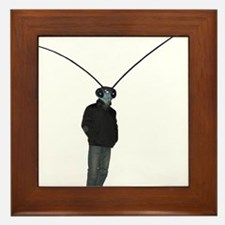 Mantis Man Framed Tile