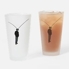 Mantis Man Drinking Glass