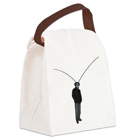 Mantis Man Canvas Lunch Bag