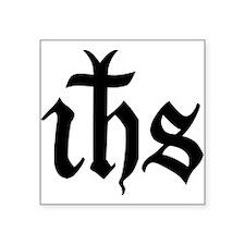 IHS Jesus Monogram Rectangle Sticker