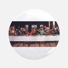 """The Lords Last Supper 3.5"""" Button"""