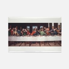 The Lords Last Supper Rectangle Magnet