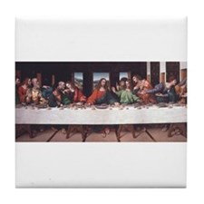 The Lords Last Supper Tile Coaster