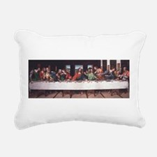 The Lords Last Supper Rectangular Canvas Pillow