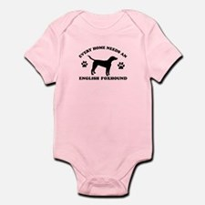 Every home needs an English Foxhound Infant Bodysu