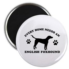 Every home needs an English Foxhound Magnet