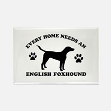 Every home needs an English Foxhound Rectangle Mag
