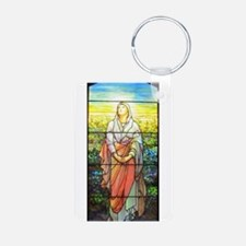 Mary, Tiffany Studios Window Keychains
