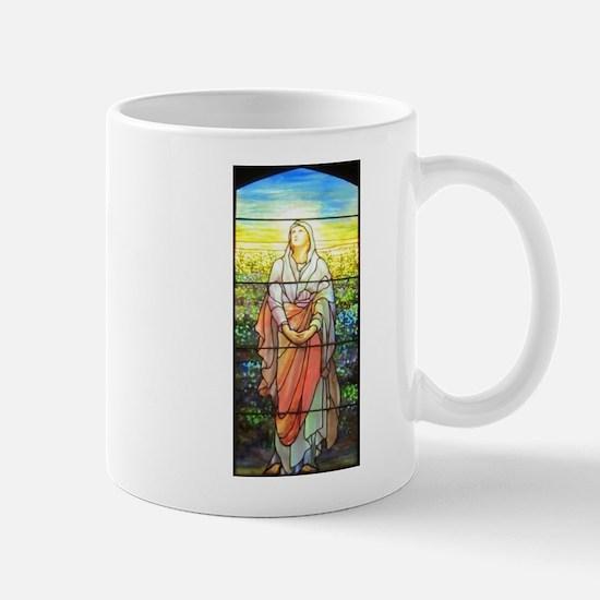 Mary, Tiffany Studios Window Mug