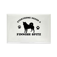 Every home needs a Finnish Spitz Rectangle Magnet
