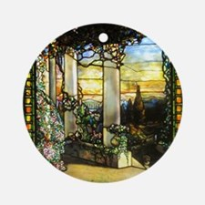 Greek Temple Garden Ornament (Round)