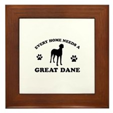 Every home needs a Great Dane Framed Tile