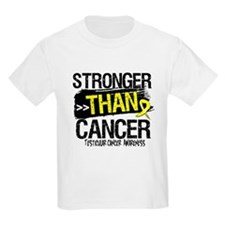 Stronger Testicular Cancer T-Shirt