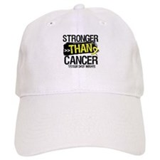 Stronger Testicular Cancer Baseball Cap