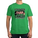Stronger Than Uterine Cancer Men's Fitted T-Shirt