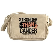 Stronger Than Uterine Cancer Messenger Bag