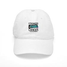 Stronger Than Thyroid Cancer Baseball Cap
