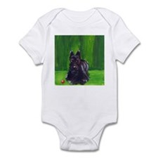 scottie green Infant Bodysuit