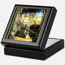 Greek Temple Garden Keepsake Box