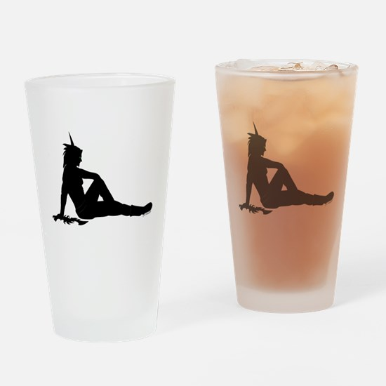 Male Blood Elf, New w/ Dagger Drinking Glass