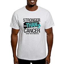 Stronger Than Ovarian Cancer T-Shirt