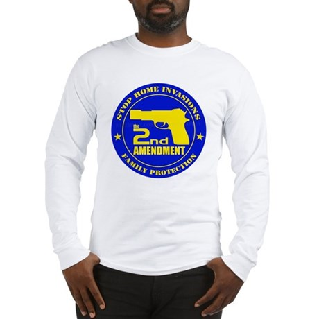 Stop Home Invasions Long Sleeve T-Shirt