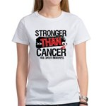 Stronger Than Oral Cancer Women's T-Shirt