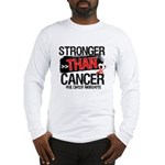 Stronger Than Oral Cancer Long Sleeve T-Shirt