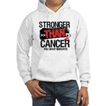 Stronger Than Oral Cancer Hooded Sweatshirt