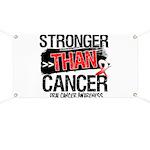 Stronger Than Oral Cancer Banner