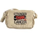 Stronger Than Oral Cancer Messenger Bag