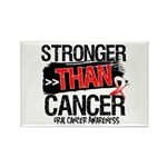 Stronger Than Oral Cancer Rectangle Magnet (100 pa