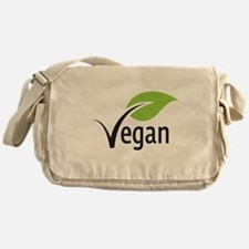vegan Messenger Bag
