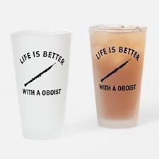Oboist designs Drinking Glass