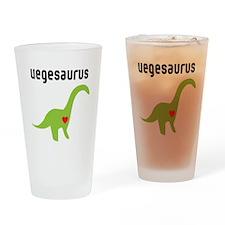 vegesaurus Drinking Glass