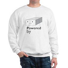 powered by tofu Sweatshirt