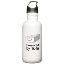 Powered by Tofu Water Bottle
