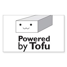 Powered by Tofu Decal